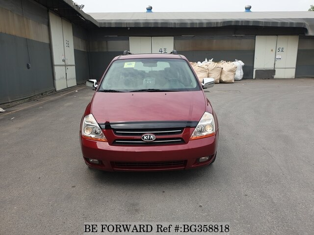 Used 2006 KIA GRAND CARNIVAL BG358818 for Sale
