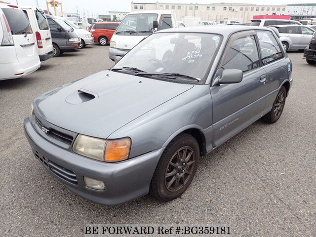 1993 Toyota Starlet Gt Turbo E Ep82 Bg359181 Usados En Venta Be Forward