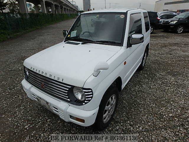Used 1998 MITSUBISHI PAJERO MINI BG361136 for Sale