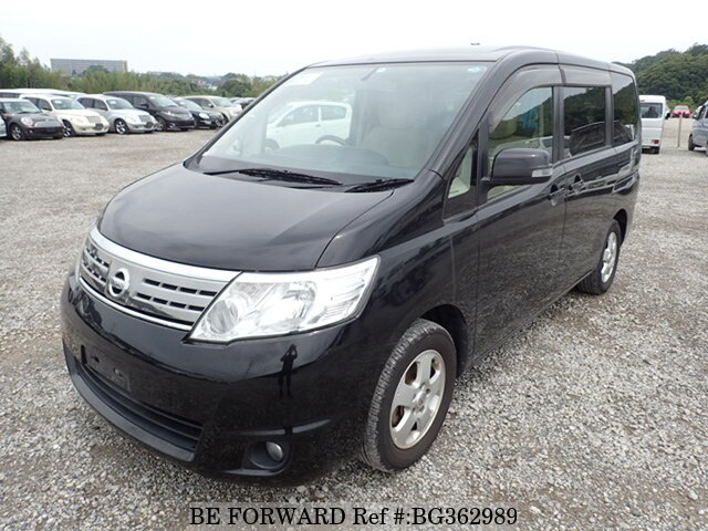 Used 2008 NISSAN SERENA BG362989 for Sale