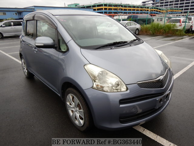 Used 2008 TOYOTA RACTIS G/DBA-NCP100 for Sale BG363440 - BE