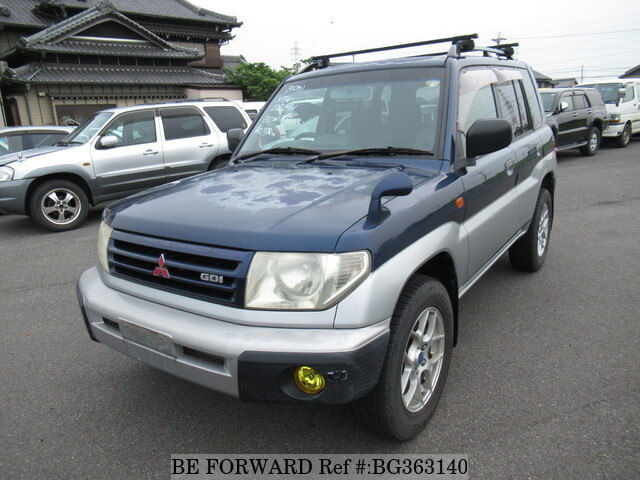 Used 1998 MITSUBISHI PAJERO IO BG363140 for Sale