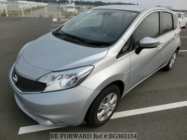 Used 2015 NISSAN NOTE BG363154 for Sale