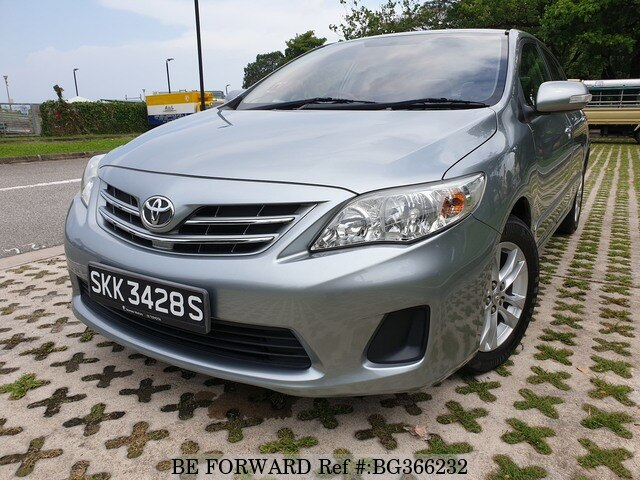 Used 2013 TOYOTA COROLLA ALTIS for Sale BG366232 - BE FORWARD