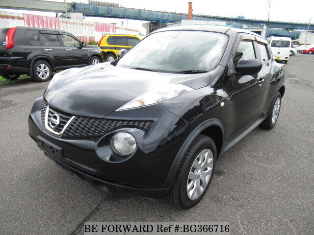 Used 2011 NISSAN JUKE 15RX/DBA-YF15 for Sale BG366716 - BE FORWARD