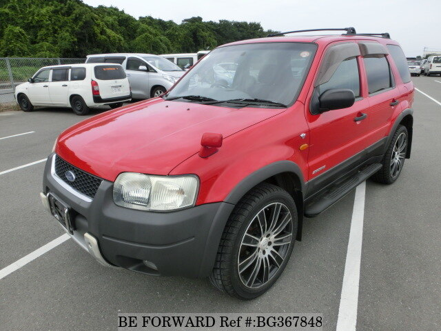 Used 2002 FORD ESCAPE BG367848 for Sale