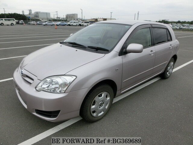 Used Toyota Corolla >> Used 2005 Toyota Corolla Runx X G Edition Cba Nze124 For Sale