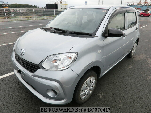 Used 2017 TOYOTA PASSO BG370417 for Sale