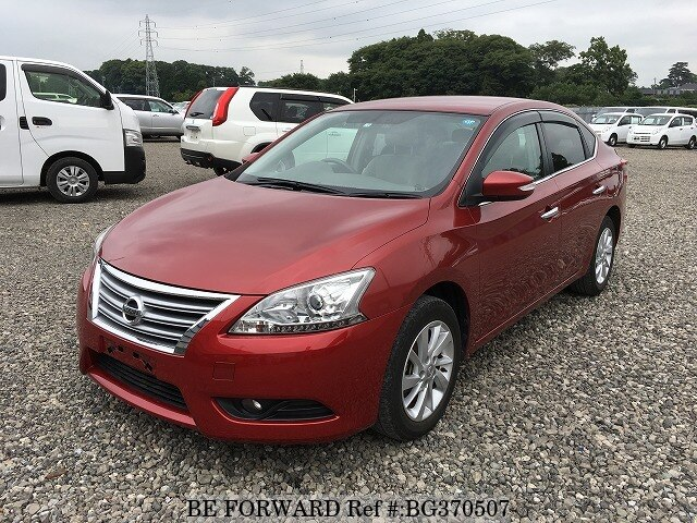 Used 2013 NISSAN SYLPHY BG370507 for Sale