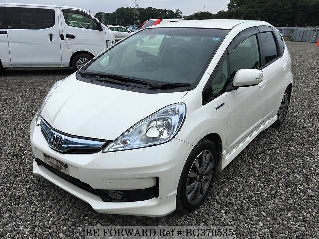 Used 2012 HONDA FIT HYBRID BG370535 for Sale