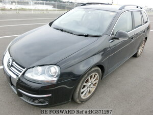 Used 2008 VOLKSWAGEN GOLF VARIANT BG371297 for Sale