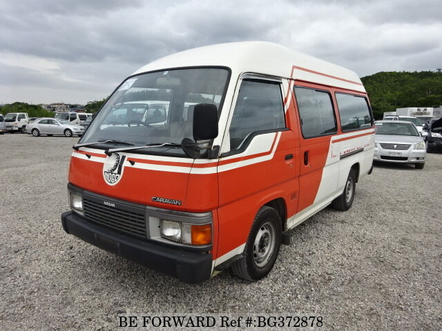 Used 1989 NISSAN CARAVAN BUS BG372878 for Sale
