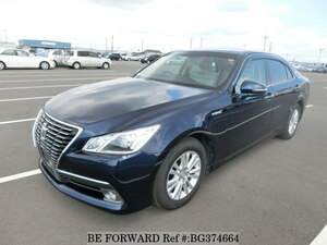 Used 2014 TOYOTA CROWN HYBRID BG374664 for Sale