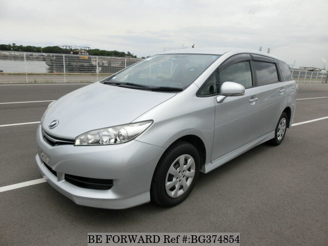 Used 2014 TOYOTA WISH BG374854 for Sale