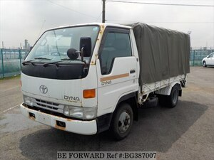 Used 1997 TOYOTA DYNA TRUCK BG387007 for Sale