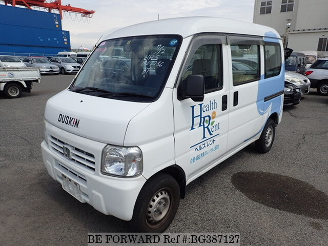 Used 2012 HONDA ACTY VAN BG387127 for Sale