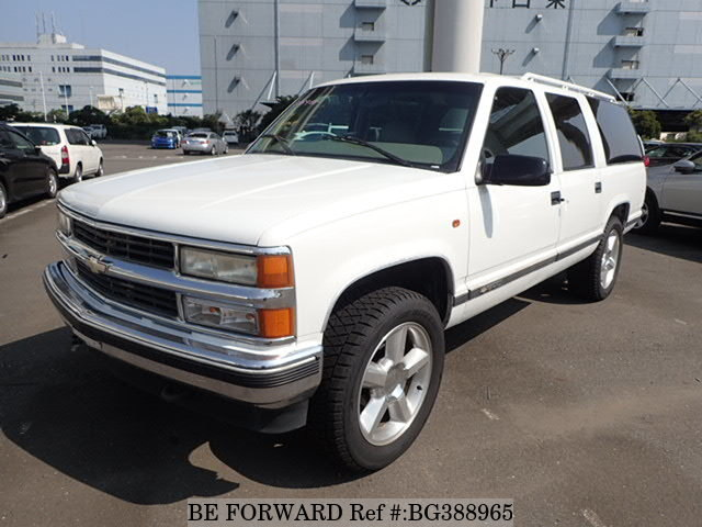 Used 2002 CHEVROLET SUBURBAN BG388965 for Sale
