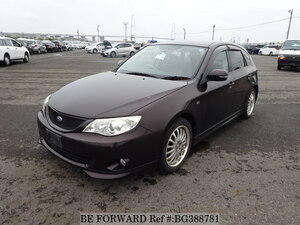 Used 2008 SUBARU IMPREZA BG388781 for Sale