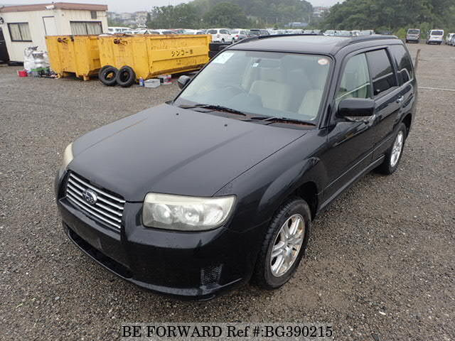 Used 2006 SUBARU FORESTER BG390215 for Sale