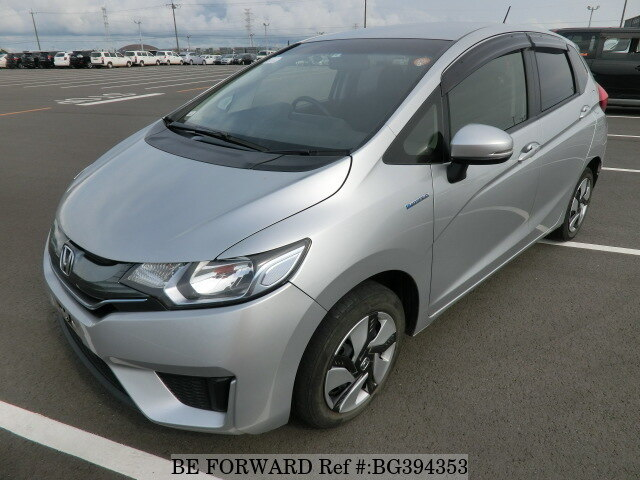 Used 2014 HONDA FIT HYBRID BG394353 for Sale