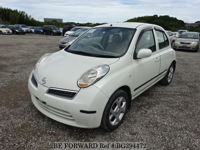 Used 2008 NISSAN MARCH BG394472 for Sale