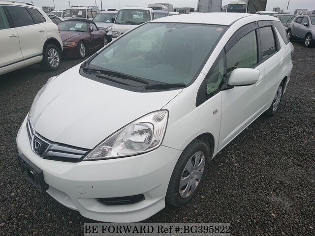 Used 2013 HONDA FIT SHUTTLE BG395822 for Sale