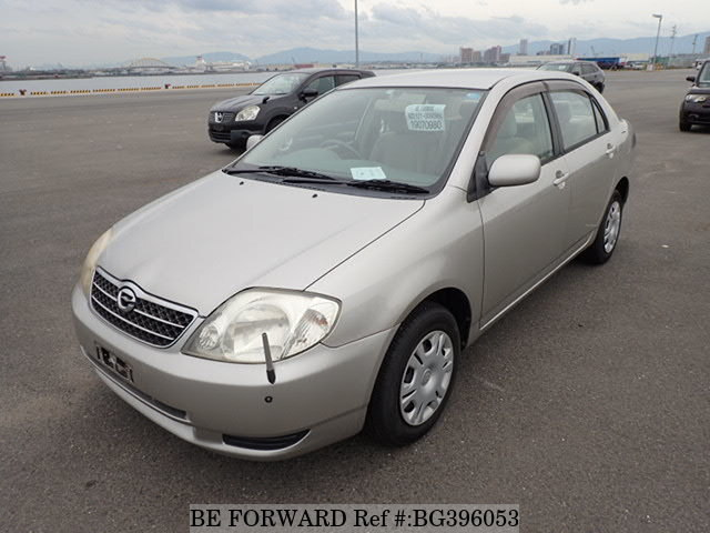 Used 2001 TOYOTA COROLLA SEDAN BG396053 for Sale