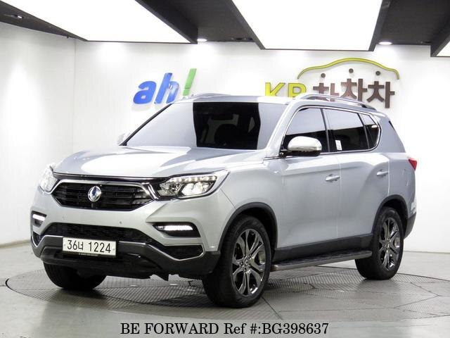 Used 2018 SSANGYONG REXTON BG398637 for Sale