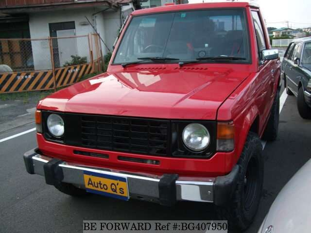 Used 1987 MITSUBISHI PAJERO BG407950 for Sale