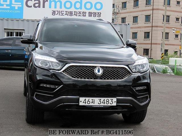 Used 2018 SSANGYONG REXTON BG411596 for Sale