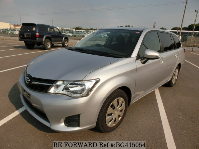 Used 2014 TOYOTA COROLLA FIELDER BG415054 for Sale