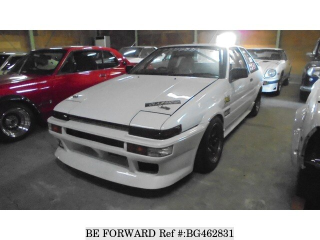 Used 1986 TOYOTA SPRINTER TRUENO BG462831 for Sale