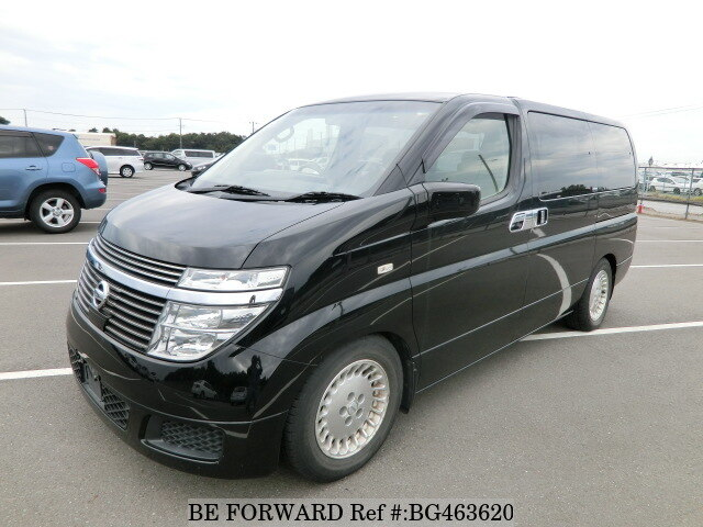 Used 2002 NISSAN ELGRAND BG463620 for Sale