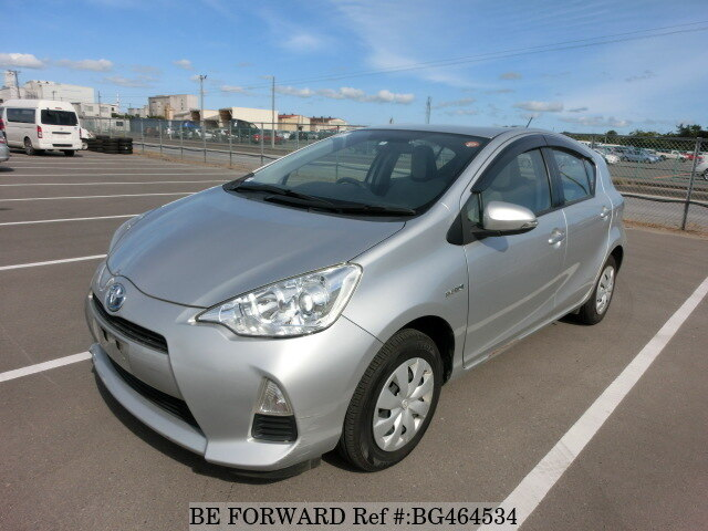 Used 2014 TOYOTA AQUA BG464534 for Sale