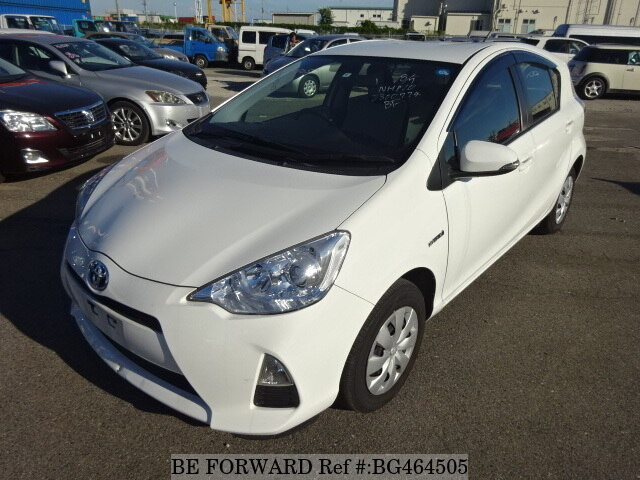 Used 2014 TOYOTA AQUA BG464505 for Sale