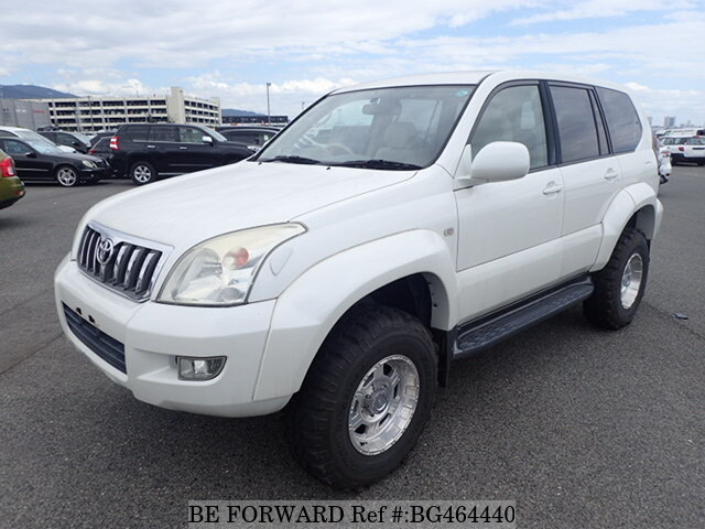 Used 2009 TOYOTA LAND CRUISER PRADO BG464440 for Sale