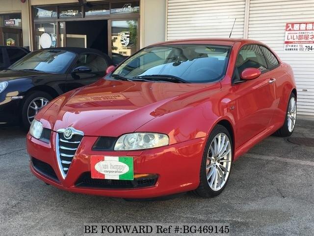 2004 Alfa Romeo GT 3.2 V6 red