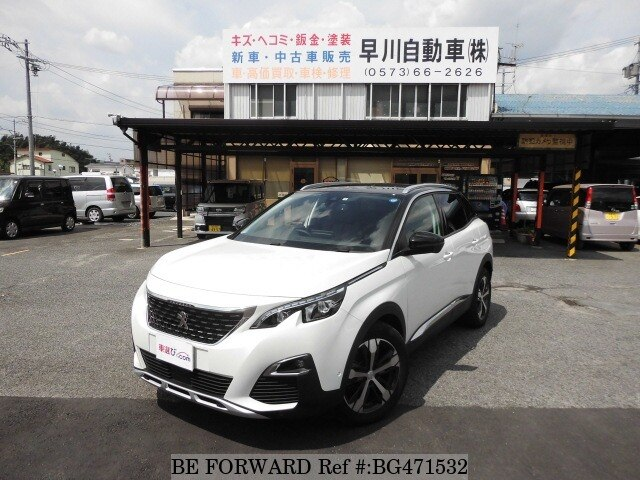 Used 2018 Peugeot 3008 Blue Hdi Special Edition Lda P84ah01 For