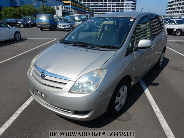 Used 2004 TOYOTA COROLLA SPACIO BG472331 for Sale