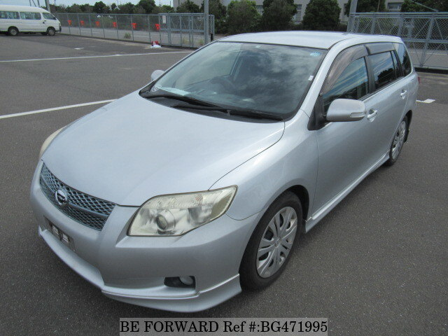Used 2007 TOYOTA COROLLA FIELDER BG471995 for Sale