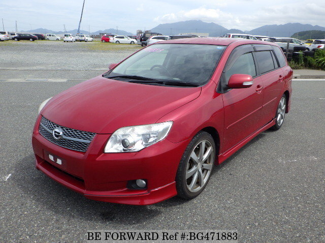 Used 2007 TOYOTA COROLLA FIELDER BG471883 for Sale