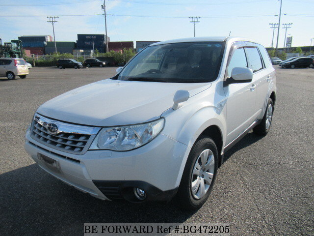 Used 2011 SUBARU FORESTER BG472205 for Sale