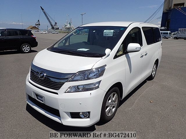 Used 2014 TOYOTA VELLFIRE BG472410 for Sale