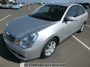 Used 2010 NISSAN BLUEBIRD SYLPHY BG473240 for Sale