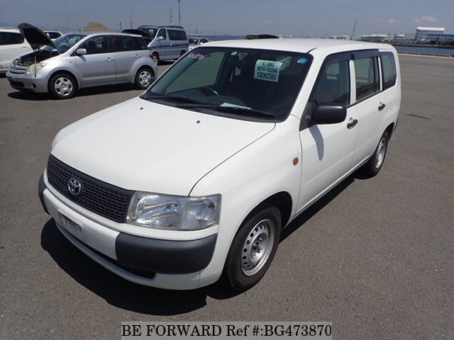 Used 2014 TOYOTA PROBOX VAN BG473870 for Sale