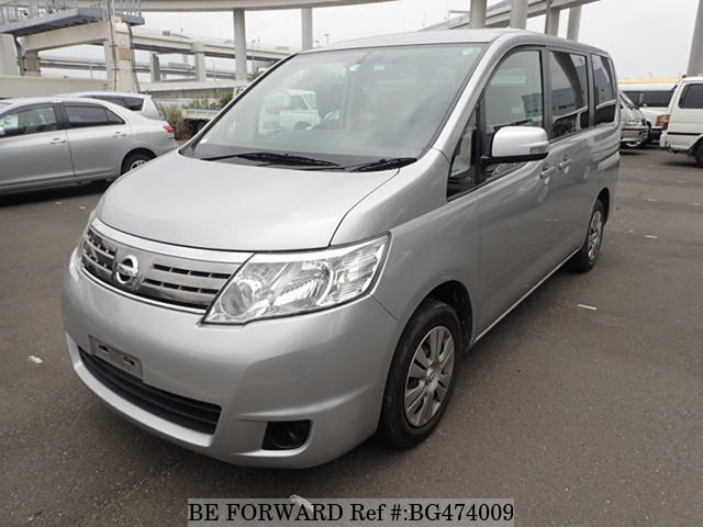 Used 2008 NISSAN SERENA BG474009 for Sale