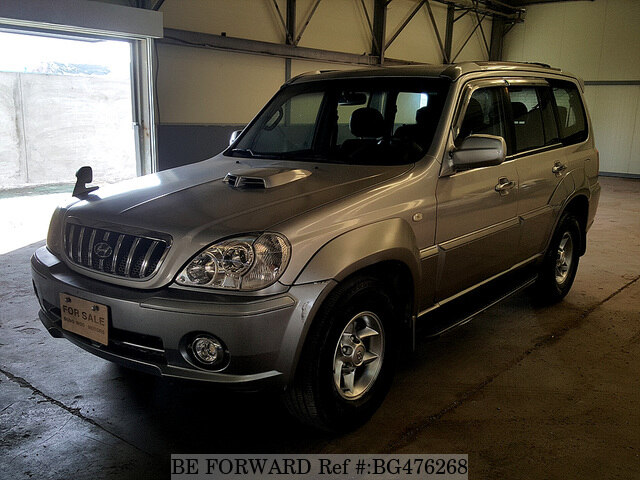 Used 2001 HYUNDAI TERRACAN BG476268 for Sale