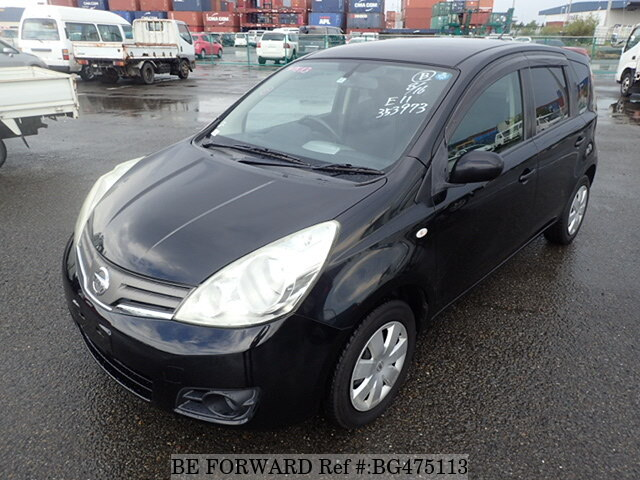 Used 2008 NISSAN NOTE BG475113 for Sale
