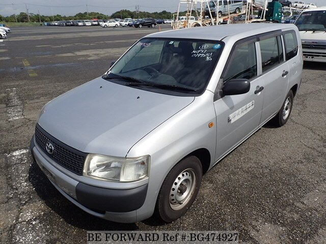 Used 2008 TOYOTA PROBOX VAN BG474927 for Sale