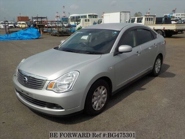 Used 2011 NISSAN BLUEBIRD SYLPHY BG475301 for Sale
